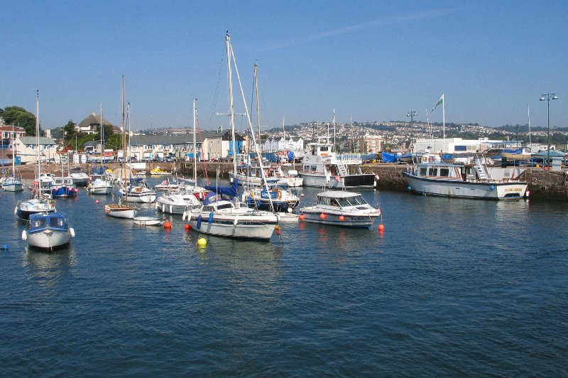 photo of boats in paignton harbour